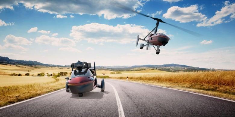 Pal V Flying Car Header