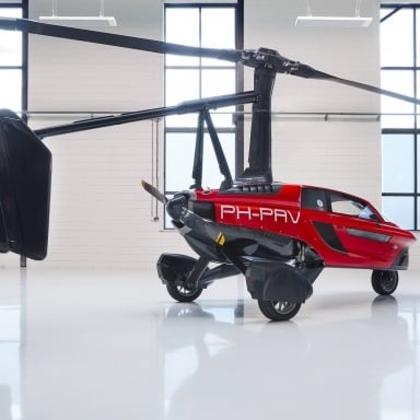Flying Car Pal V Liberty Slider 4