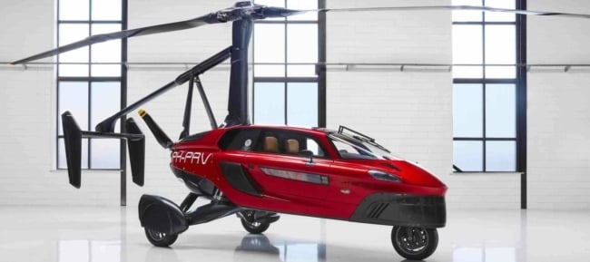 Flying Car Pal V Liberty Slider 3