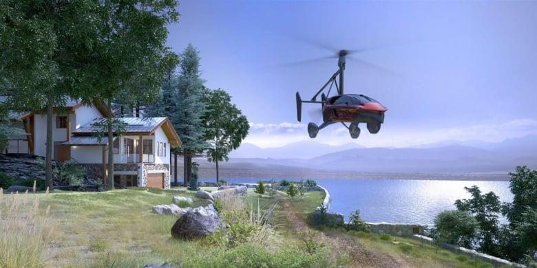 Pal V Flying Car Slider 1 Adventurer