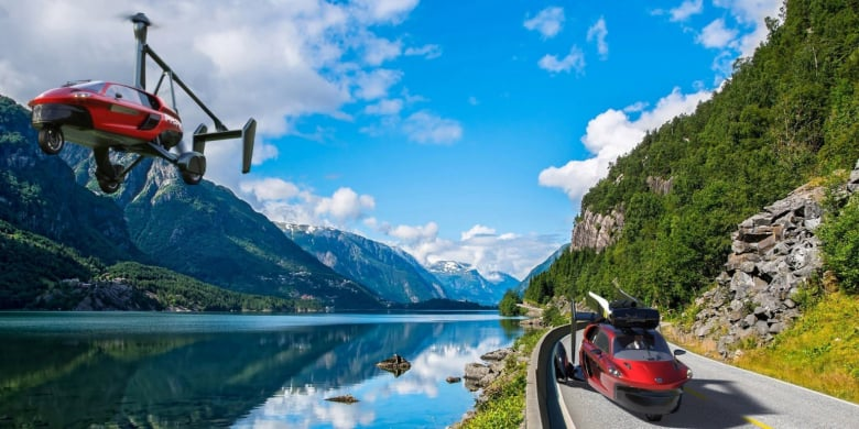 Pal V Flying Car Teaser Afbeelding
