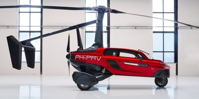 Flying Car Pal V Liberty