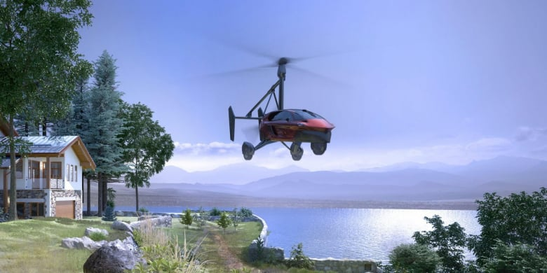 Pal V Flying Car Addictive Flying Comfort