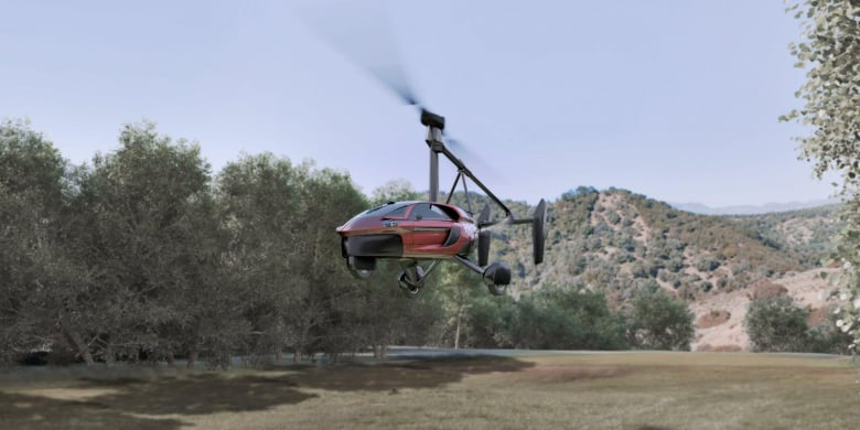 Pal V Flying Car Already A Pilot
