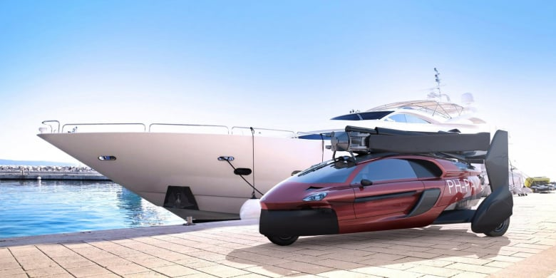 Pal V Flying Car Impress Without Saying A Word