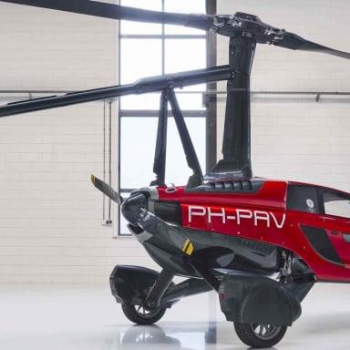 Flying Car Pal V Liberty Slider 4