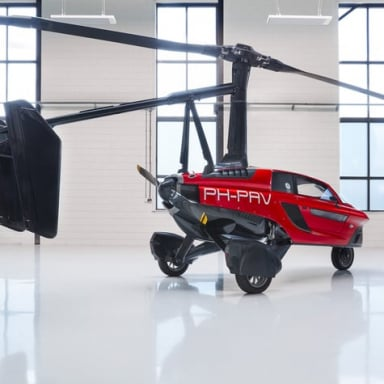 Flying Car Pal V Liberty Mobility