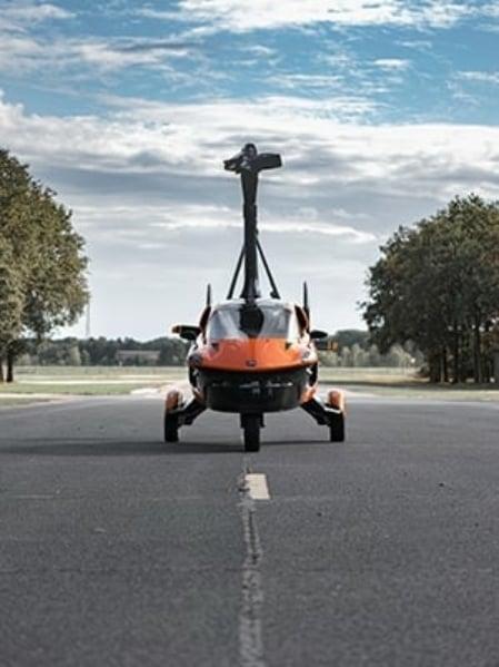 Pal V Flying Car Button