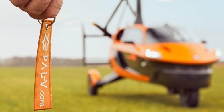 Flying Car Pal V Liberty Stap In Mobile