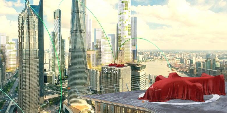 Flying Car Pal V Vision Teaser 1