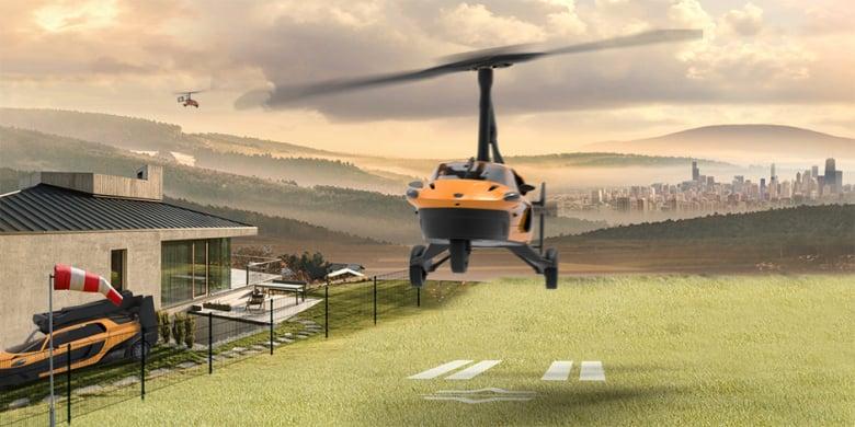 Flying Car Pal V Website Teaser 1