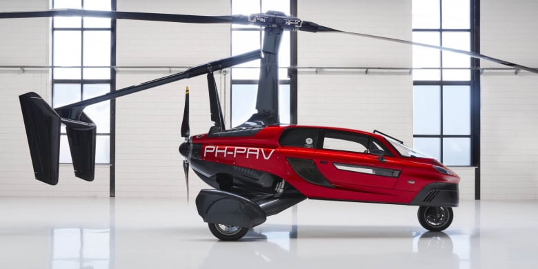 Flying Car Pal V Liberty Solid Dutch Engineering