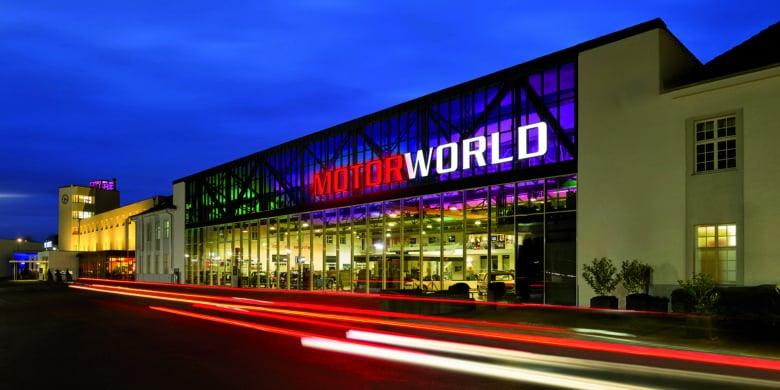 Motorworld Stuttgart Keyvisiual Copy Website