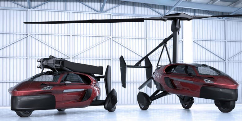 Pal V Flying Car Teaser The Easiest Way To Become A Pilot