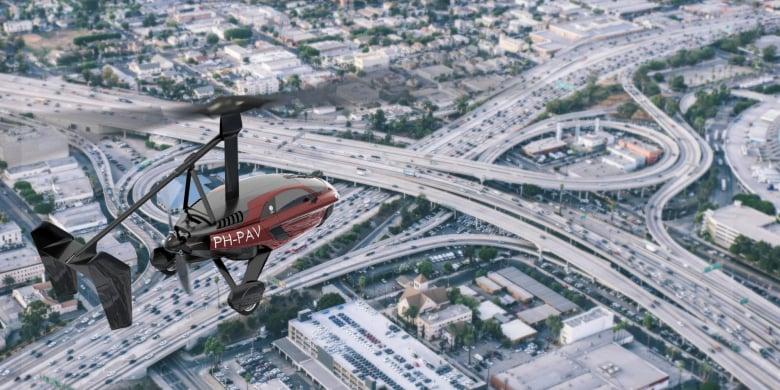 Pal V Flying Car Traffic 2880X1440