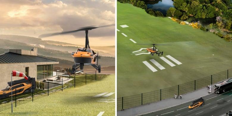 Pal V Flying Car Website Teaser 3