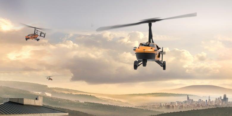 Pal V Flying Car Website Teaser 4