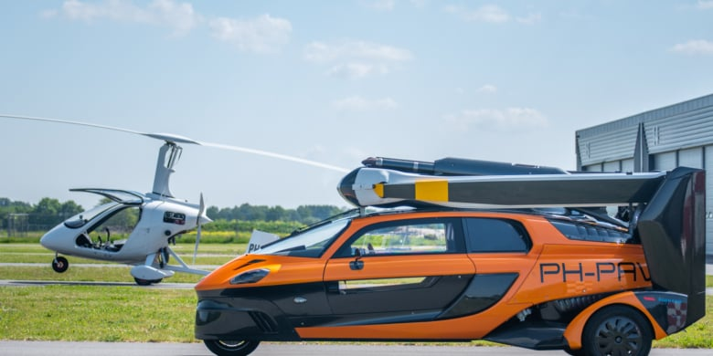 Pal V Liberty Breda Airport 2021 2222