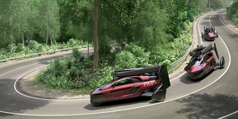Pal V Flying Car Experience Sports Car Driving