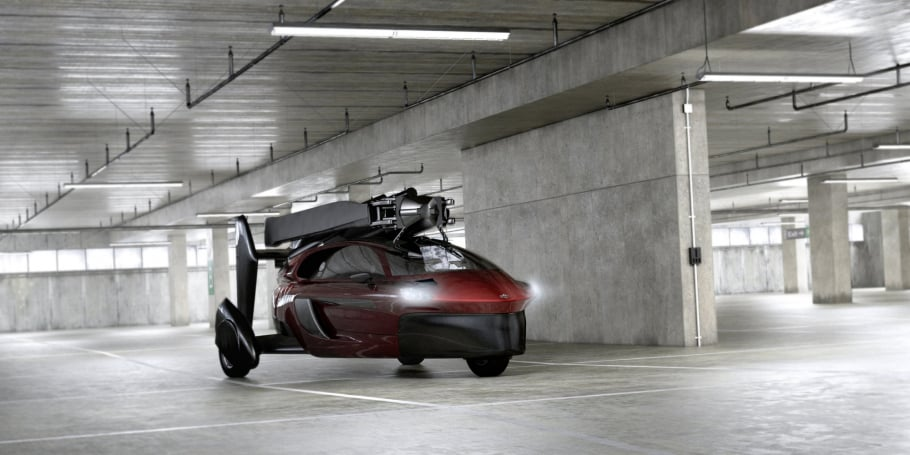 Pal V Flying Car Park Literally Anywhere